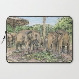Rescued in Thailand Laptop Sleeve
