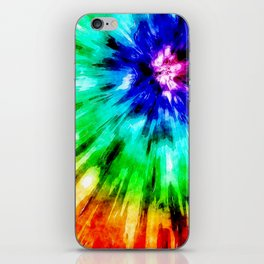 Tie Dye Meets Watercolor iPhone Skin