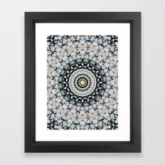 Just Because Nothingness Mandala Framed Art Print