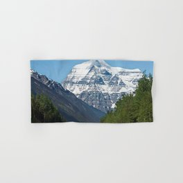 Mount Robson Photography Print Hand & Bath Towel