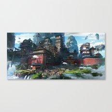 Massive City Canvas Print