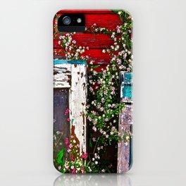 Window Flowers iPhone Case