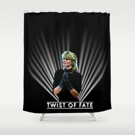Olivia Newton-John - John Travolta - Two Of A Kind - Twist Of Fate 1983 Shower Curtain