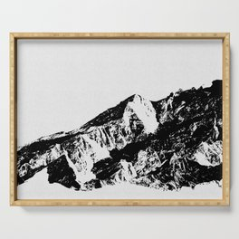 Mountains I Serving Tray
