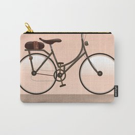 Houten Netherlands Cycling poster print. Carry-All Pouch