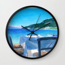 Psathopirgos Dine Wall Clock