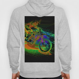 Race to the Finish! - Motocross Racer Hoody