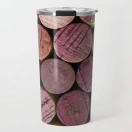 Red Wine Corks 2 Travel Mug