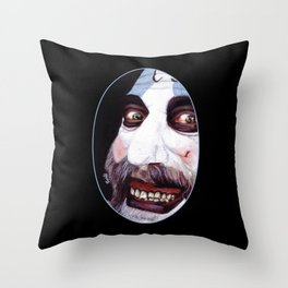 Captain Spaulding Throw Pillow