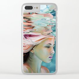 Spotless mind Clear iPhone Case