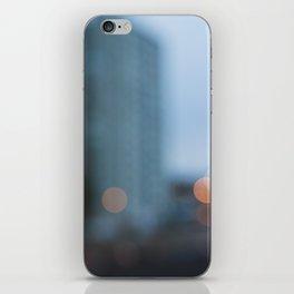City bokeh iPhone Skin