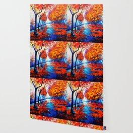 Tardis Art Tree Blossom Wallpaper