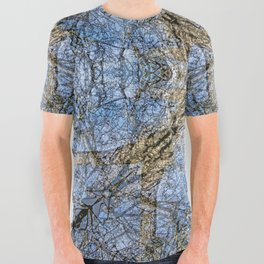WINTER PEAR TREE All Over Graphic Tee
