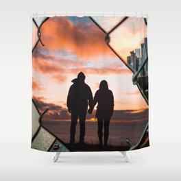 Free Love by GEN Z Shower Curtain