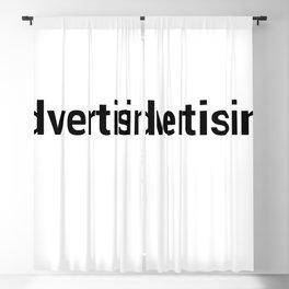 advertising Blackout Curtain