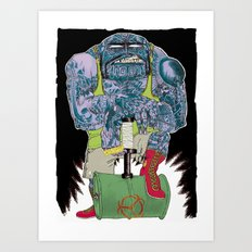 HAMMER TIME ! Art Print