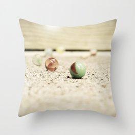 Retro Child's Play Throw Pillow