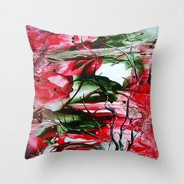 BurningSun Throw Pillow