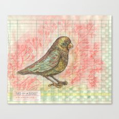 Bird on a Budget Canvas Print