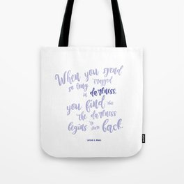 A court of mist and fury (purple) Tote Bag