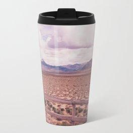 Desert Fence Travel Mug