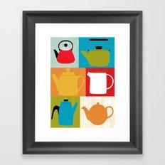 Kettle Collection Framed Art Print