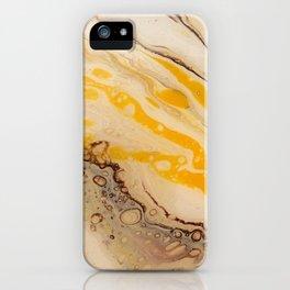 Golden Ocean iPhone Case
