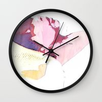 selfie Wall Clocks featuring selfie by Lara Castro