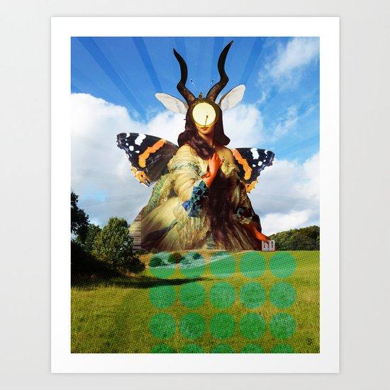 Lola - (nature) Art Print