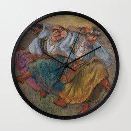 Russian Dancers Wall Clock