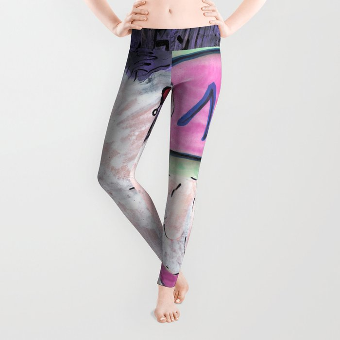 Milk Android Justin Consults Schrödinger's Love Triangle Leggings