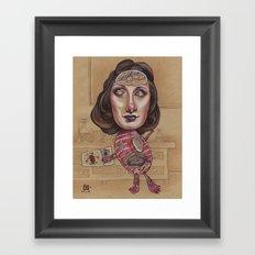 ANATOMY LESSON Framed Art Print