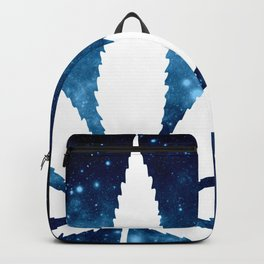Weed : High Times Blue Galaxy Backpack