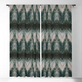 Shades of Green Shibori Blackout Curtain