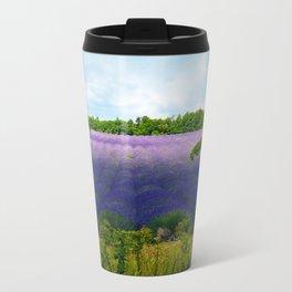 Summertime Lavender Travel Mug