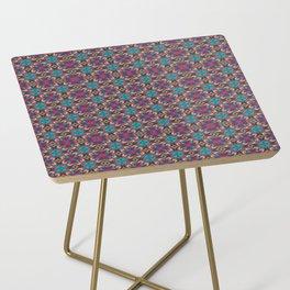 Symmetrical Art // Geometric Art // 2021_001 Side Table