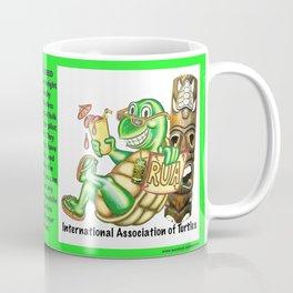 International Association of Turtles w/ Slogan Coffee Mug
