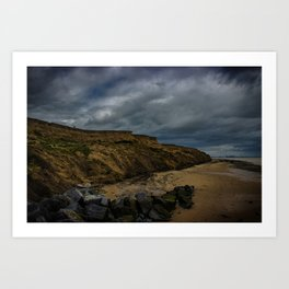 Walton Beach,Essex,England Art Print