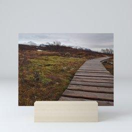 Icelandic Range Mini Art Print