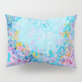 Follow my heart, Abstract Painting Pillow Sham