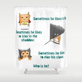MeeMee's diary #5 Shower Curtain