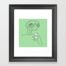 Selfie.t. Framed Art Print