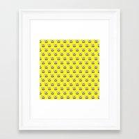 spongebob Framed Art Prints featuring SPONGEBOB by September 9