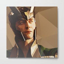 Loki, Prince of Asgard Metal Print