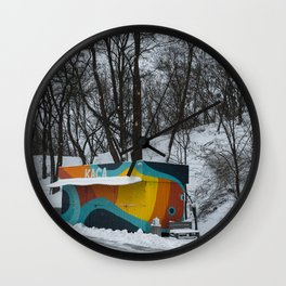 The Season is Over Wall Clock