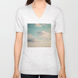 An endless affair with the upper atmosphere Unisex V-Neck