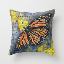 Sound of Nature 3 Throw Pillow