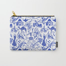 Arabian Nights // China Blue Carry-All Pouch