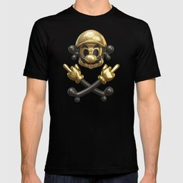 Undead Icons. Mario T-shirt