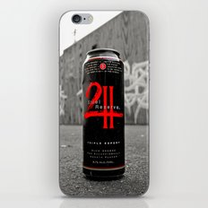 Urban malt liquor iPhone & iPod Skin